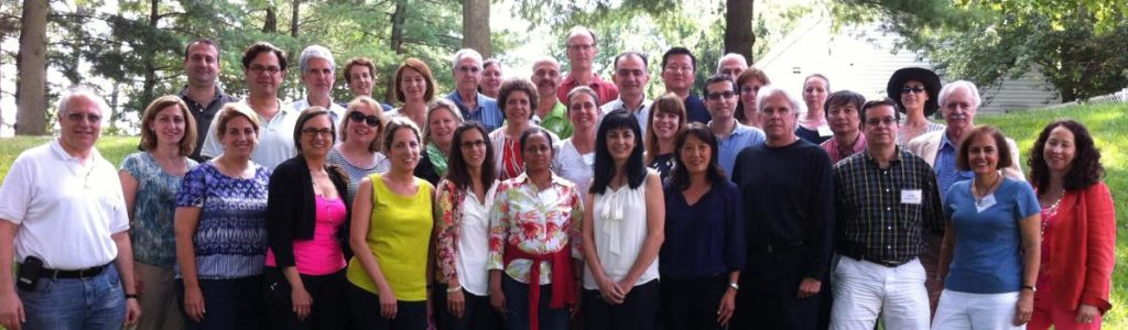 Group photo from CENTILE Retreat, July 2013